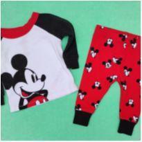 Conjunto Mickey - 6 a 9 meses - Disney