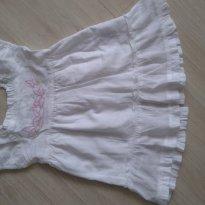 Vestido Branco - 9 a 12 meses - Toys & Kids