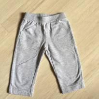 Calça de Moleton Cinza Mescla Carters - 6 meses - Não informada