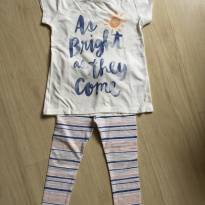 Conjunto Legging + Camiseta Old Navy - 4 anos - Old Navy (USA)