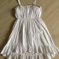 Vestido Branco Importado - 14 anos - Cherokee