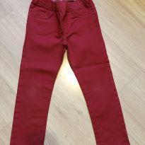 Calça Legging de Sarja Vermelha Importada - 4 anos - Old Navy (USA)