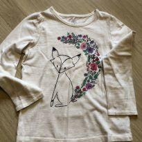 Camiseta Raposa GAP - 5 anos - Baby Gap