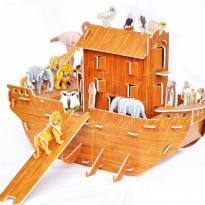 Quebra Cabeça Arca De Noé 3D - Sem faixa etaria - Importada