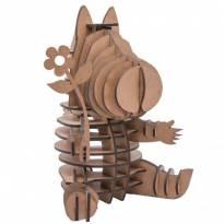 Quebra-cabeça MDF 3D Hipopótamo Lisbela Pasiani -  - Não informada