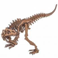 Quebra-cabeça MDF 3D Dinossauro Alossauro Pasiani -  - Não informada