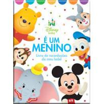 Álbum Livro Recordações Meu Bebê Menino Disney Bicho Esperto -  - Bicho Esperto