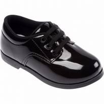 Sapato Social Infantil Masculino Preto Tam 24 Pimpolho 32629c - 24 - Pimpolho
