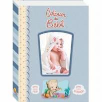 Diário Álbum Recordações Do Bebê Azul Todolivro -  - Todo Livro