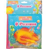 Livro De Banho Com Brinquedo O Peixinho Todolivro -  - Todo Livro