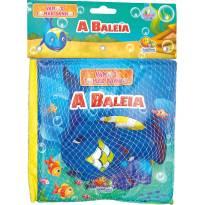 Livro De Banho Com Brinquedo A Baleia Todolivro -  - Todo Livro