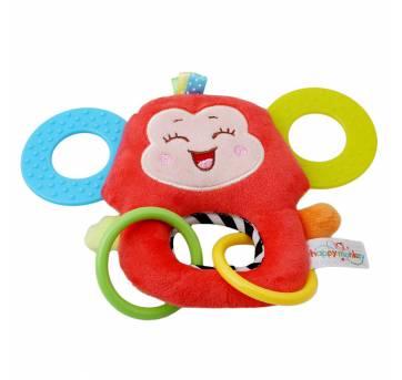 Chocalho Mordedor Macaco Happy Monkey - Sem faixa etaria - Happy Monkey