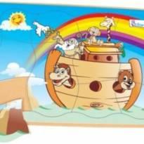 Quebra Cabeça Madeira Arca de Noé Simque 465 -  - Sinque