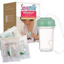 MamaTutti Relactação e Suplementação Alimentar Savemilk Com 10 Sondas -  - Savemilk