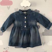 Vestido Jeans Carter´s - 3 meses - Carter`s