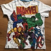 Camiseta Marvel - 4 anos - MARVEL