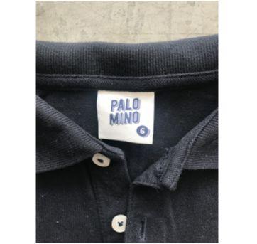Camisa Polo Manga Longa - 6 anos - Palomino