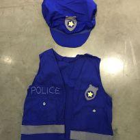 Fantasia Colete Policial - 6 anos - Não informada