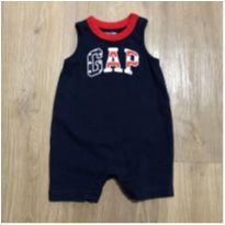 Macacão curto baby Gap - 0 a 3 meses - Baby Gap