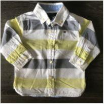 Camisa Tommy - 6 a 9 meses - Tommy Hilfiger
