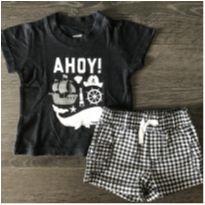 Conjunto Ahoy! - 3 meses - Carter`s