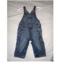 Macacão Jeans - 6 a 9 meses - OshKosh