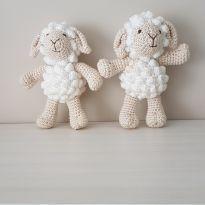 Amigurumi - Ovelhas de crochê -  - Feito à mão