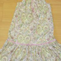 Vestido verde e rosa fresquinho - EPK - 12 anos - EPK