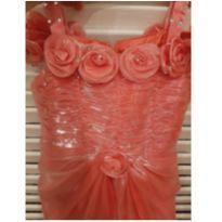Vestido Rosa estilo princesa -  Importado - 8 anos - Não informada