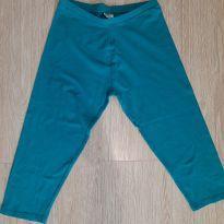 Bermuda tipo ciclista azul Zara. (Seminova) - 13 anos - Zara