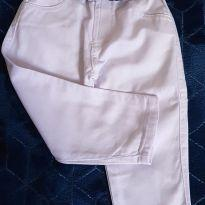 Calça branca - 1 ano - Não informada