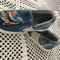 Alpargata Zara - Jeans Estampada - Menino - 25 - Zara Baby