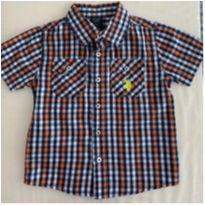 Camisa Xadrez Manga Curta - US Polo ASSN - 2 anos - US Polo Assn