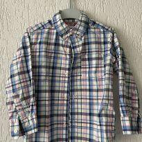 Camisa Social Xadrez Infantil Masculina - Carter's - 3 anos - Carter`s