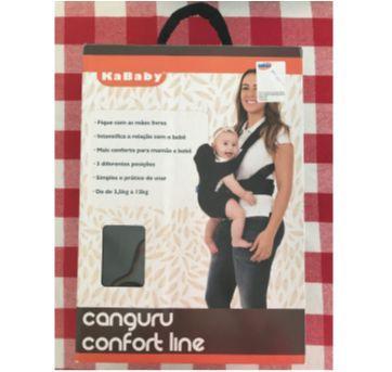 Canguru Comfort Line Preto KaBaby - Sem faixa etaria - Kababy