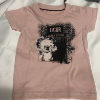 Camiseta - 6 a 9 meses - Tigor T.  Tigre