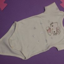 Body Hello Kitty - 6 a 9 meses - Sanrio
