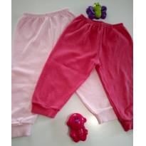 Kit com 2 calças - 1 ano - MUB e keccy baby