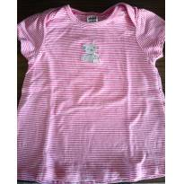 Blusa gatinho - listrada - 18 meses - Carter`s e Child of Mine