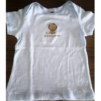 Blusa leão  - listrada - 18 meses - Child of Mine e Carter`s