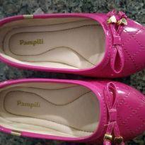 Sapatilha rosa - 24 - Pampili
