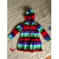 Vestido listrado - 12 a 18 meses - Baby Gap