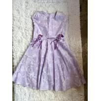 Vestido lilás lindinho - 10 anos - Não informada