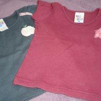 Kit blusas malha - 2 anos - Pulla Bulla