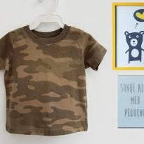 Camiseta Militar Carters - 1 ano - Carter`s