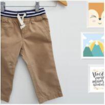 Calça de Sarja Cru Carters - 18 meses - Carter`s