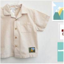 Camisa Xadrez Babyworks - 24 a 36 meses - Babyworks