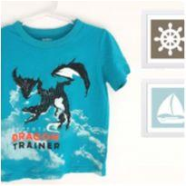 Camiseta Dragão Oshkosh - 2 anos - OshKosh