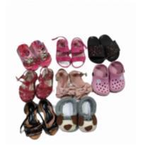 Lote calçados bebe - 18 - nacionais varias e Molekinha