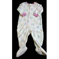 Macacão Carter´s Fleece Bebê Menina 12 Meses - 1 ano - Carter`s